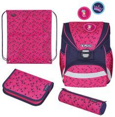 Herlitz školska torba UltraLight, zvijezde, šarena