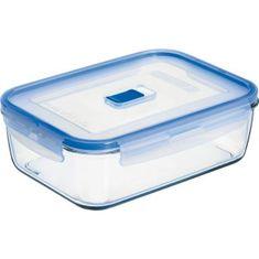 Luminarc Nádoba na potraviny skleněná Pure Box 1200 ml, obdelníková