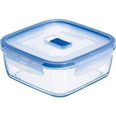 Luminarc Nádoba na potraviny skleněná Pure Box 1220 ml, čtvercová