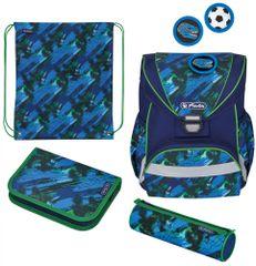 Herlitz školska torba UltraLight, mrlje, šarena