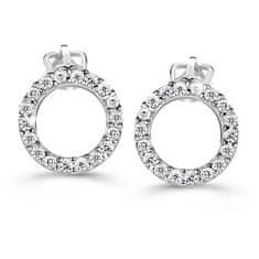 Cutie Diamonds Luxusné náušnice z bieleho zlata s briliantmi DZ60240-30-00-X-2
