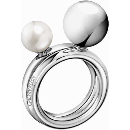 Calvin Klein Acél gyűrűBubble KJ9RMR04060 (Kerület 57 mm)