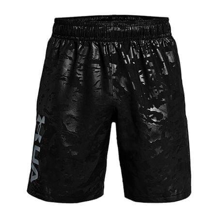 Under Armour UA szövött dombornyomású nadrág-BLK, UA szövött dombornyomású nadrág-BLK | 1361432-001 | MD