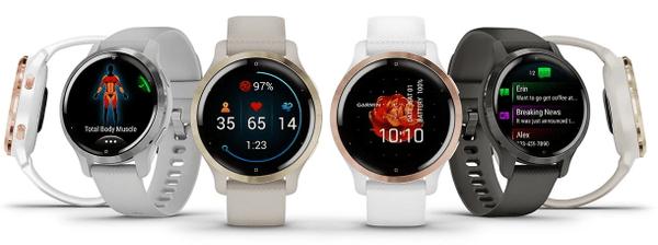 Inteligentné hodinky Garmin VENU 2S, AMOLED displej, smart watch, pokročilé, zdravotné funkcie, tep, dych, menštruačný cyklus, pitný režim, metabolizmus, kalórie, vzdialenosti, kroky, aktivita, odpočinok, spánok dlhá výdrž batérie 10 dní vodotesné 5 ATM animované cvičenia hudobný prehrávač 650 skladieb Garmin Pay bezkontaktné platby Gorilla Glass 3 športové aplikácie silové tréningy detailná analýza spánku tep, okysličenie krvi, metabolizmus, kalórie, vzdialenosti, multi šport, pitný režim, dych, stres, energie, kondície, VO2 max, menštruačný cyklus