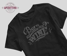Diva Born to be Wine tričko Velikost: Pánské vel.L