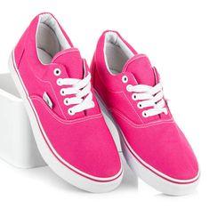 Luxusné ružové tenisky s bielou podrážkou