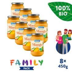 Salvest Family BIO Mango 100 % 8x (450 g)