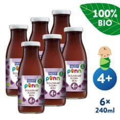 Salvest Põnn BIO Slivková šťava s dužinou 6x (240 ml)