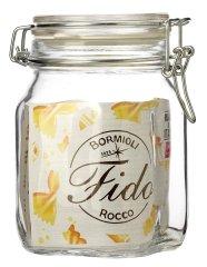 FIDO Zavařovací sklenice 1 l 6 ks