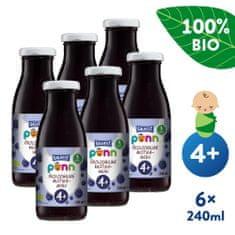 Salvest Põnn BIO Čučoriedková šťava s dužinou 6x (240 ml)