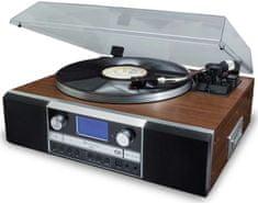 Soundmaster PL905, retro HI-Fi systém, stříbrná/hnědá