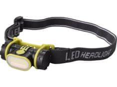 Extol Light Čelovka 2W COB LED, 90lm, 1xAA, s plochým svetlom