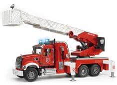 BRUDER 2821 Mack Granite Wóz strażacki