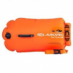 Aropec Plavecká bójka a suchý vak SWIM BUOY 28 L oranžová