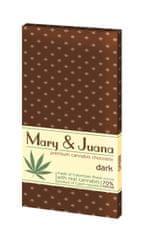 EUPHORIA Mary & Juana hořká čokoláda s konopným semínkem 70% 80 g