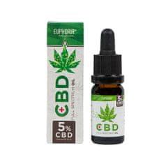 EUPHORIA CBD konopný olej full spectrum 5% 500 mg 10 ml