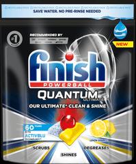 Finish Quantum Ultimate - kapsle do myčky nádobí Lemon Sparkle 60 ks