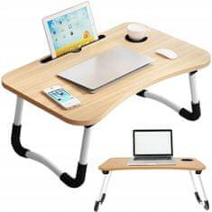 Skladací stolík pod notebook