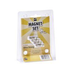 MagPaint Magneti Neodim ultra močni ᶲ29mm srebrni