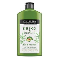 John Frieda Detox balzam za poškodovane lase Detox & Repair (Conditioner) 250 ml