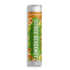 Crazy Rumors Balzam na pery Citrus Bergamot (Lip Balm) 4,4 ml