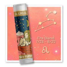 Crazy Rumors Balzam na pery Zodiac - Lev (Lip Balm) 4,4 ml