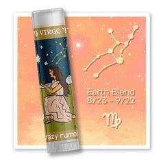 Crazy Rumors Balzam na pery Zodiac - Panna (Lip Balm) 4,4 ml