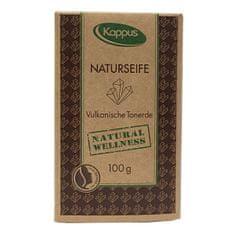 Kappus Natu ral wellness mydlo 100 g 3-1423 Vulkanické bahno
