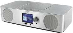 Soundmaster ICD2070SI, internetové rádio, DAB+/FM strieborná