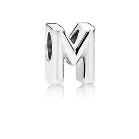 """Pandora Ezüst gyöngy """"M"""" 797467 ezüst 925/1000"""