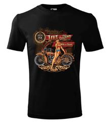BrinX.cz RIDE a CLASSIC - nové motorkářské tričko