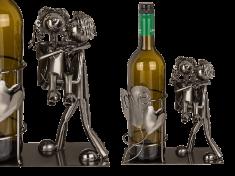Out of The blue Kovový stojan na víno Zamilovaný pár II.
