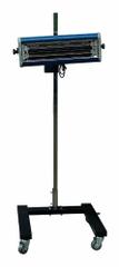 SATRA Infražiarič pre sušenie lakov 1000 W, 1 lampa, pojazdný - SATRA