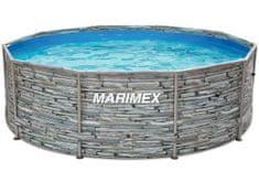 Marimex Florida medence 3,05 × 0,91 m, szűrő nélkül, kőmintás (10340245)