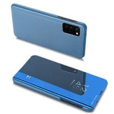 MG Clear View knjižni ovitek za Samsung Galaxy A32 4G, modro