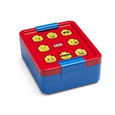 LEGO Lunch ICONIC Classic box na svačinu - červená/modrá