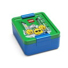 LEGO Lunch ICONIC Boy box na svačinu - modrá/zelená