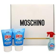 Moschino Fresh Couture - EDT 5 ml + sprchový gél 25 ml + telové mlieko 25 ml