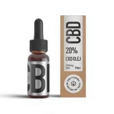 CBD Pharma konopný olej 20 % 10 ml