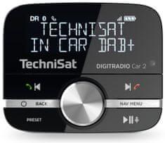 Technisat DIGITRADIO CAR 2, černá/stříbrná