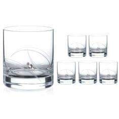 Diamante Atlantis poháre na vodu a whisky - sada 6 pohárov