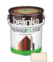 BELINKA  Toplasur UV Plus 0,75l biela 11 - hrubovrstvá lazúra