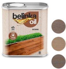 BELINKA  Oil Decking 0,75L 205 sivá - olej na terasy a záhradný nábytok