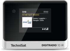 Technisat DIGITRADIO 10 IR, černá/stříbrná