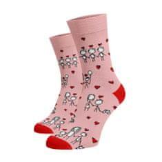 BENAMI Veselé ponožky Děkuji mami Světlé růžová Bavlna 35-38
