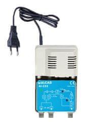 ALCAD Domovní zesilovač 28 dB AI-233 s vestavěným napájecím zdrojem