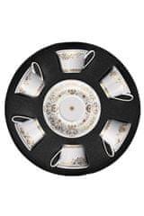 Rosenthal Versace ROSENTHAL VERSACE MEDUSA GALA GOLD Set 6 ks šálka s tanierikom nízky