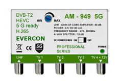EVERCON Anténní zesilovač AM-949 5G bez napájecího zdroje