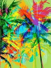 Kouzelný Art Palmy