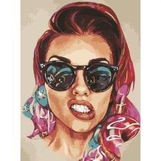 Kouzelný Art V okuliaroch
